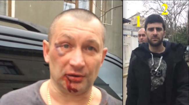 ВКрыму жителя Ялты безжалостно избили заукраинскую символику намашине