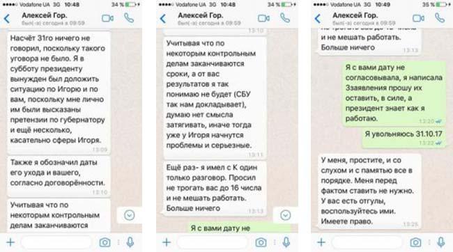 Соломатина обнародовала переписку сякобы куратором изАдминистрации президента
