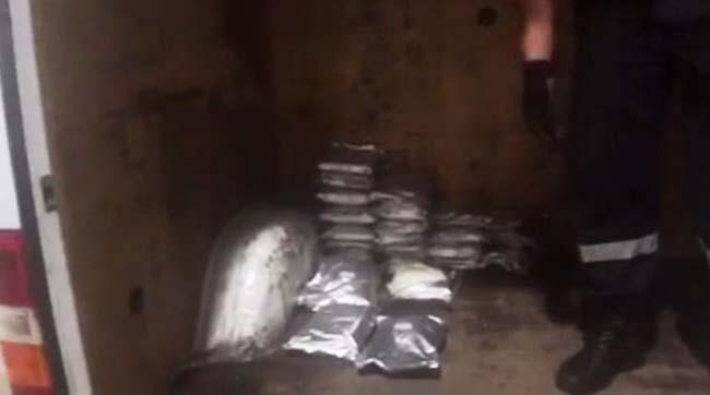 Українець намагався перевезти доПольщі 27кг наркотичних речовин