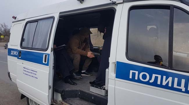ВКрыму задержали крымскотатарского активиста