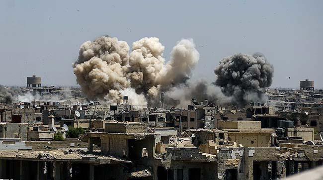 ВПС Іраку завдали авіаударів попозиціях терористів ІДІЛ уСирії