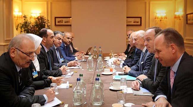 Делегація Асада погодилася научасть упереговорах зопозицією вЖеневі