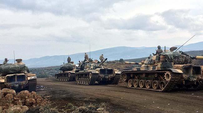 Турецька армія нанесла удар попозиціях курдів уСирії