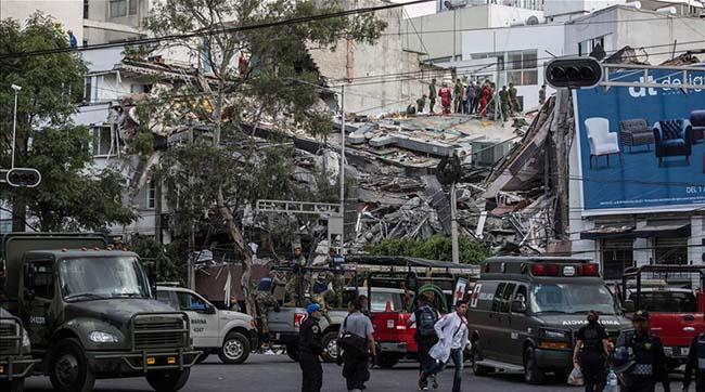 Землетрус уМексиці магнітудою 7,1 призвів доруйнувань устолиці