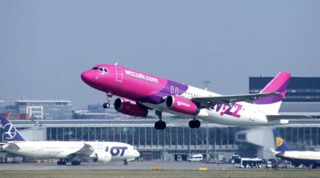 Wizz Air запускає нові рейси вПольщу, Данію і Німеччину