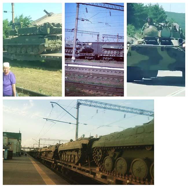 Російська військова техніка, яка «заблукала» накордоні зУкраїною