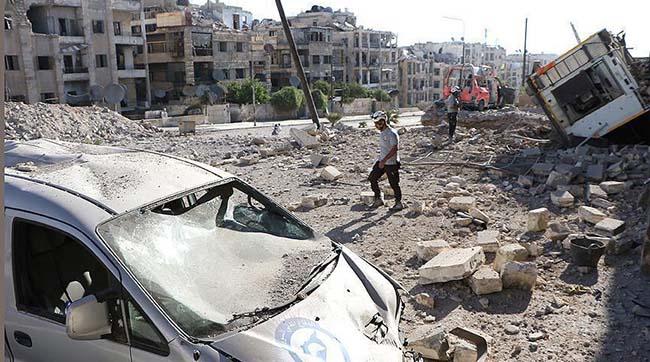 Число погибших в результате авиаудара в провинции Алеппо достигло 86